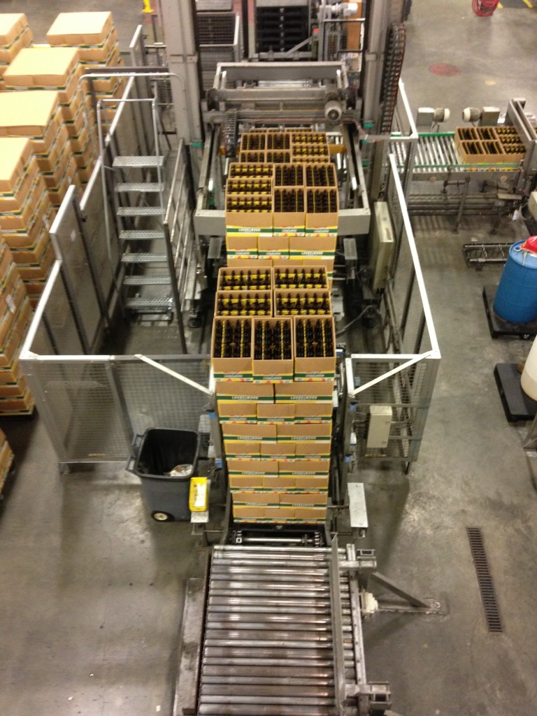 Birds Eye View of Workhorse IPA Cases