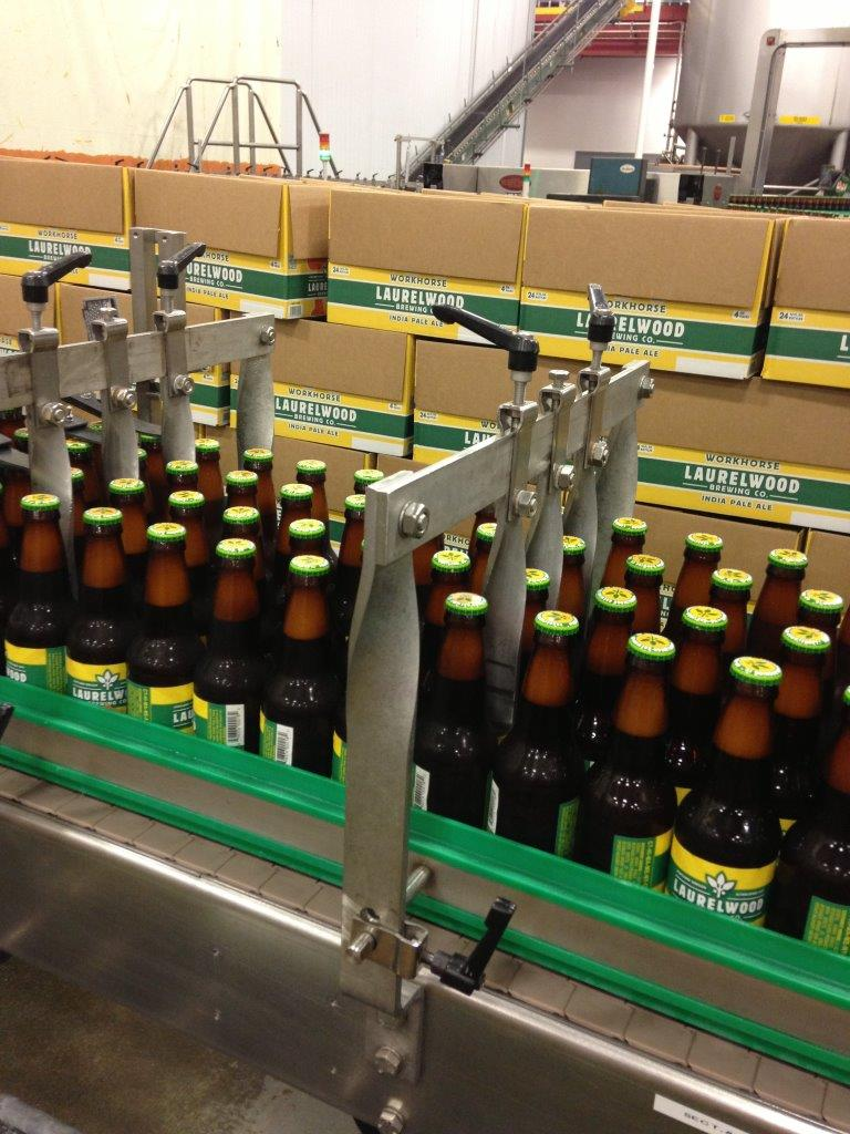 Fresh Filled Bottles of Workhorse IPA