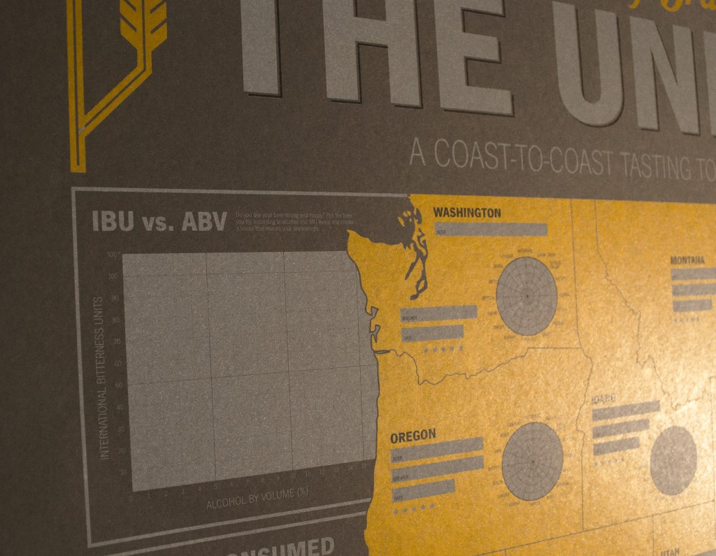 IBU vs ABV Oregon Washington Map Detail
