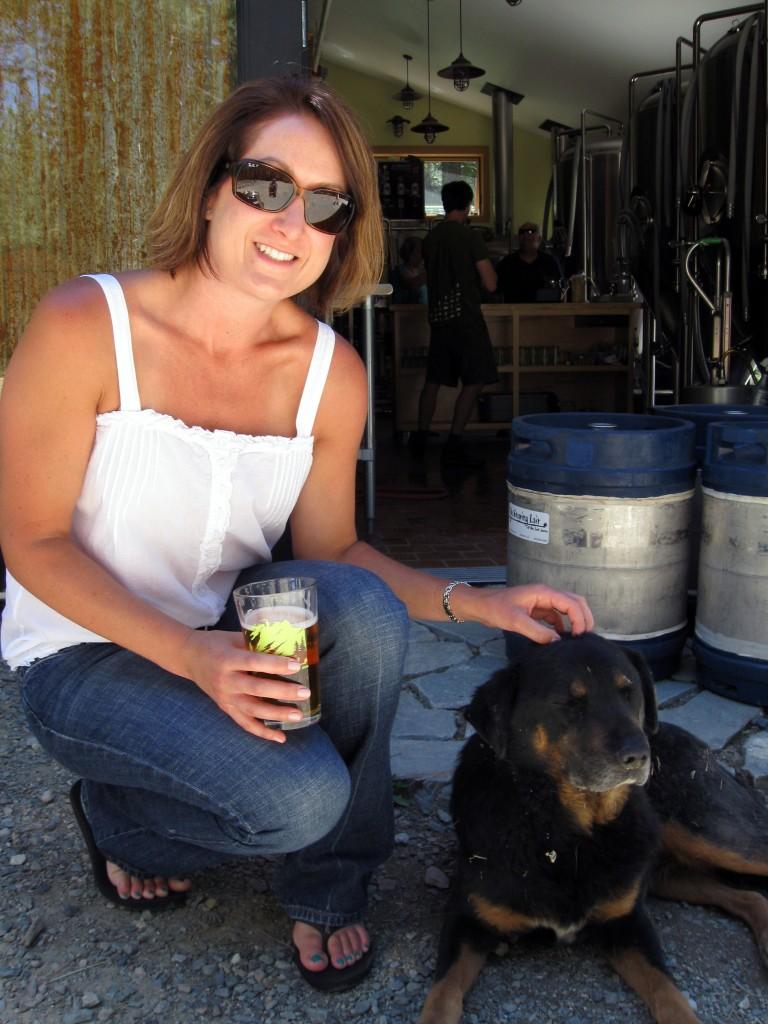 Karoo the brewery's Guard Dog