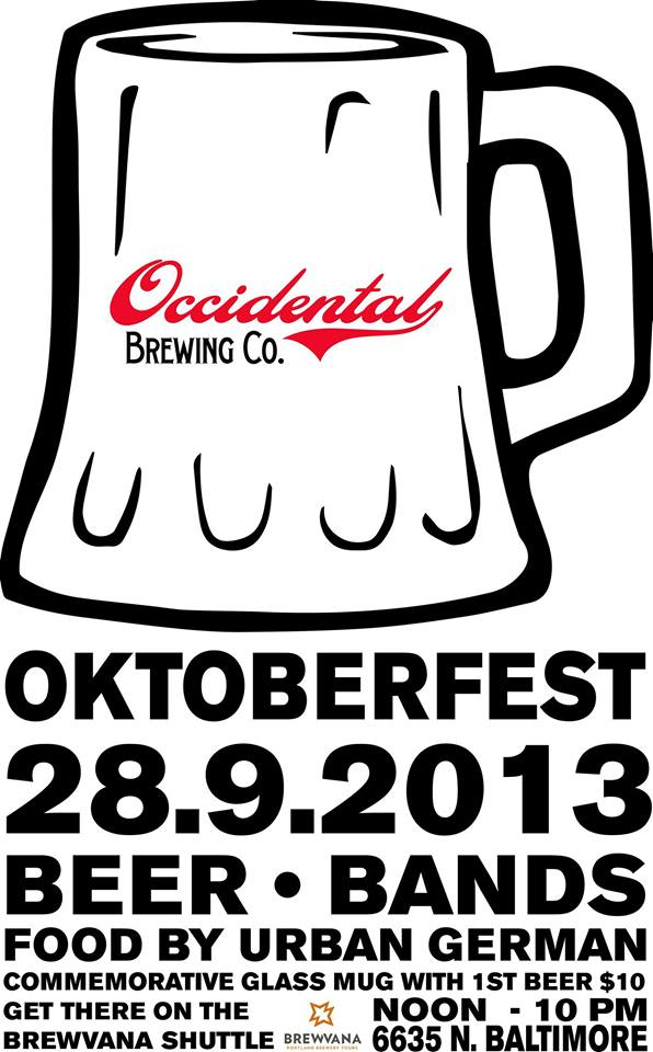 Occidental Brewing Oktoberfest