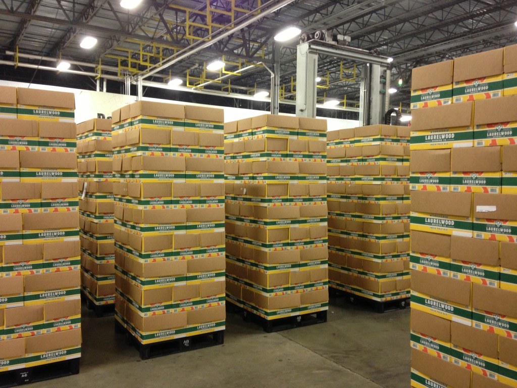 Pallets of Workhorse IPA