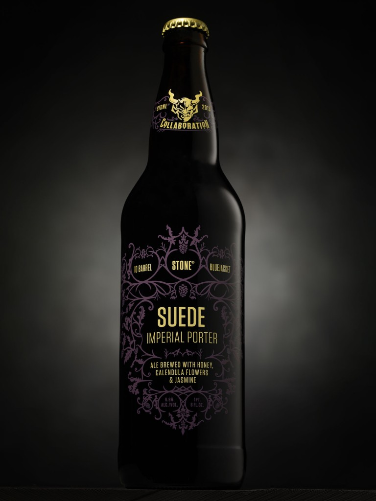 Stone Suede Imperial Porter Bottle