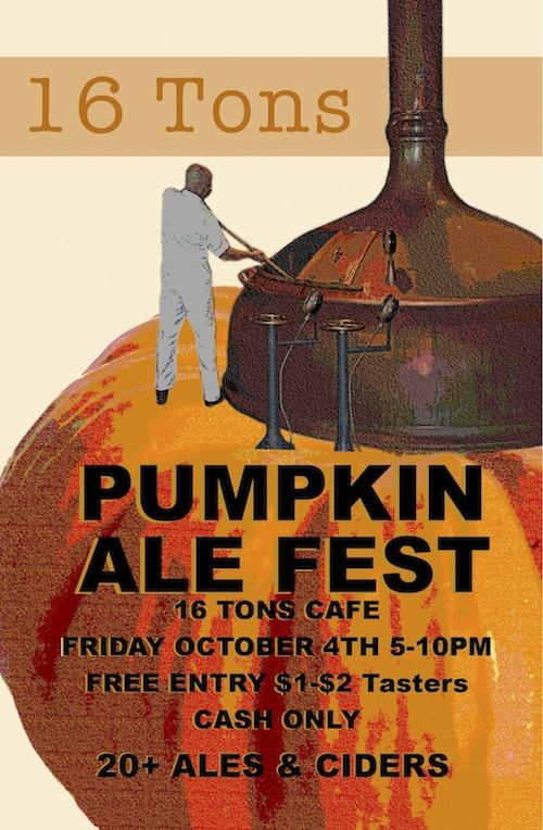 16 Tons Cafe Pumpkin Fest