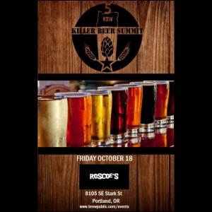 Roscoe's / Brewpublic Killer Beer Summit / KillerBeerWeek Kickoff!