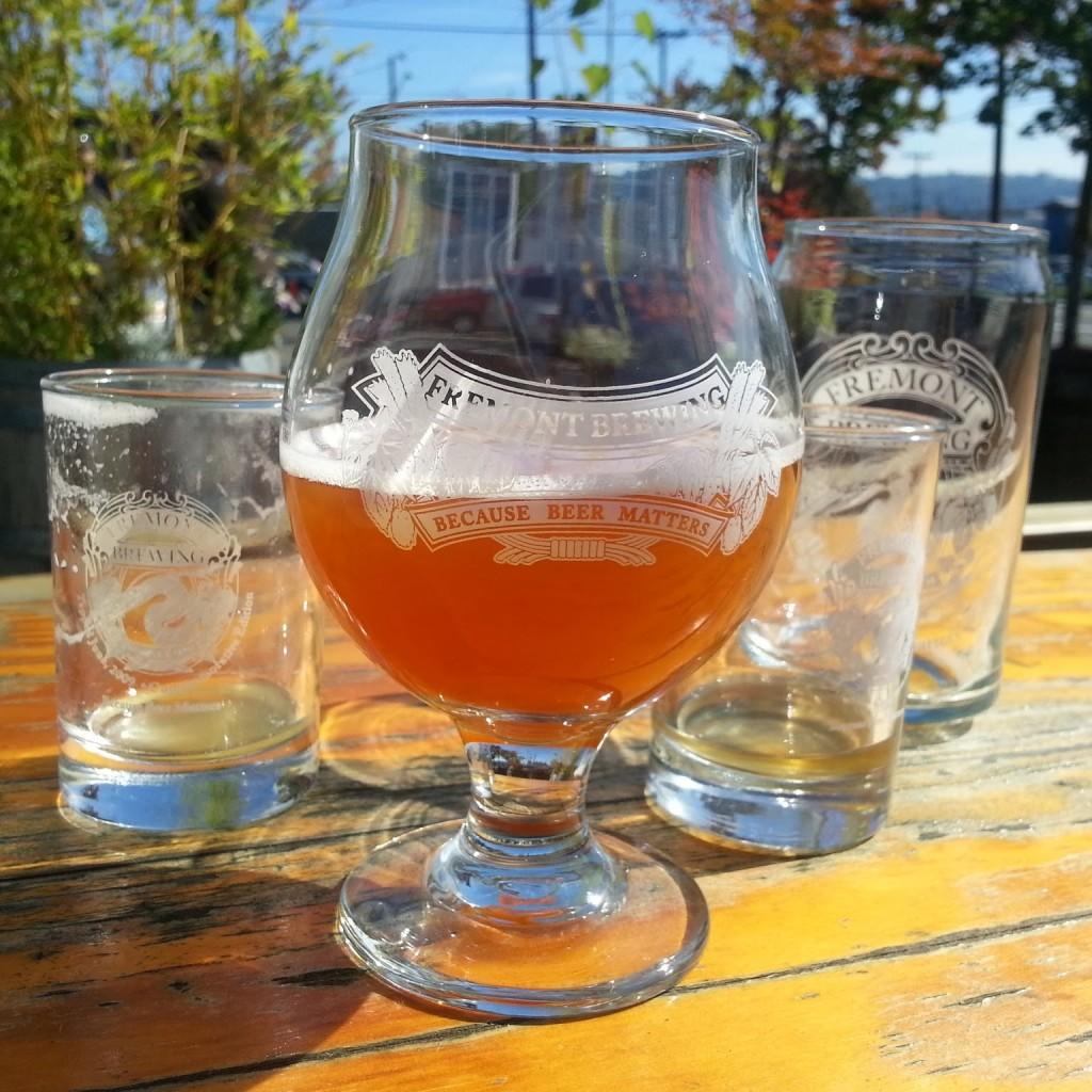 A variety of delicious Fremont brews were sampled