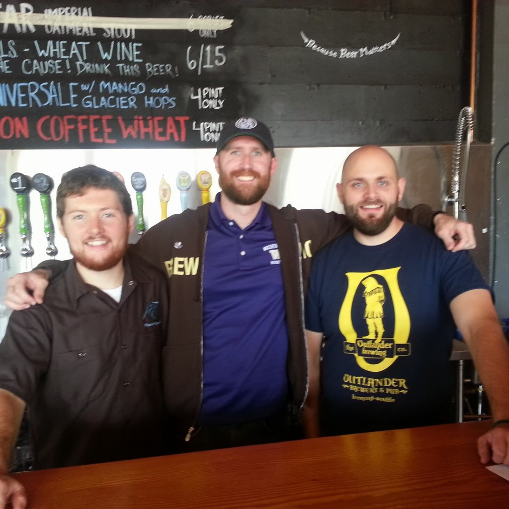 Hangin' with Matthew and Thor at Freemont Brewing