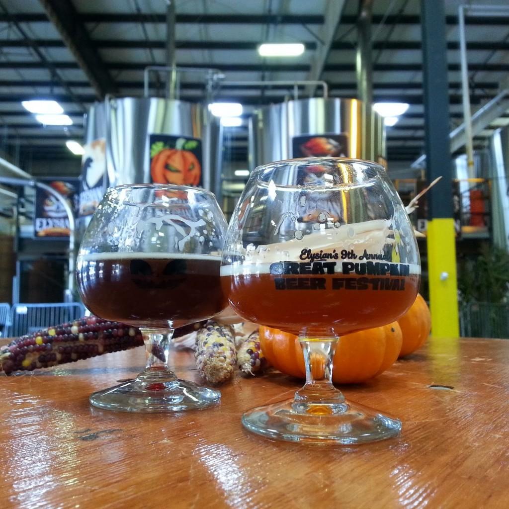 Great Pumpkin Beer Festival Glass