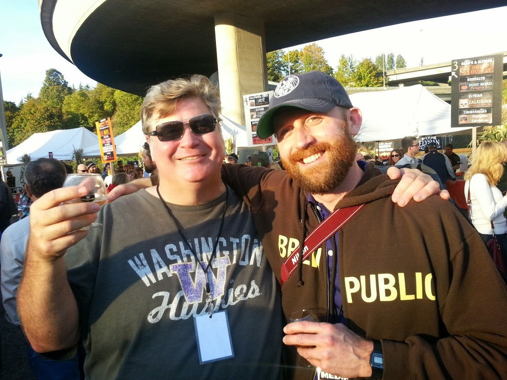 Hangin with Kendall of Washington Beer Blog
