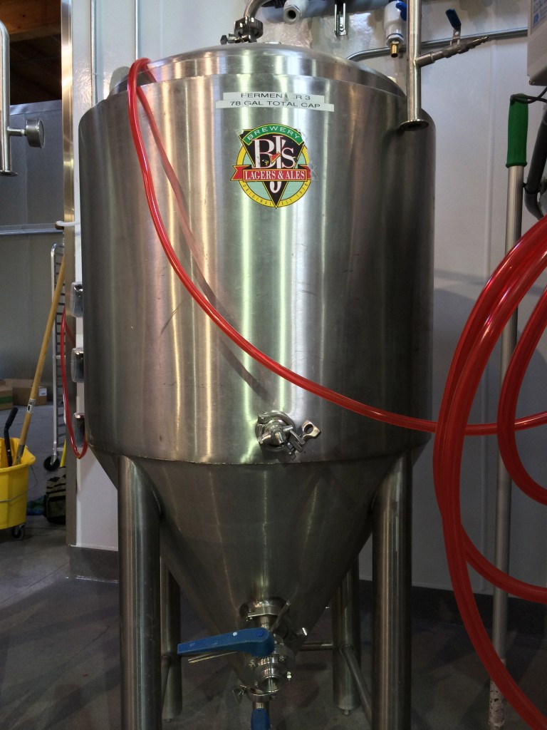 A Former BJ's Tank Finds a New Home at Ecliptic Brewing