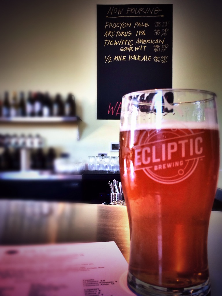 Arcturus IPA at Ecliptic Brewing
