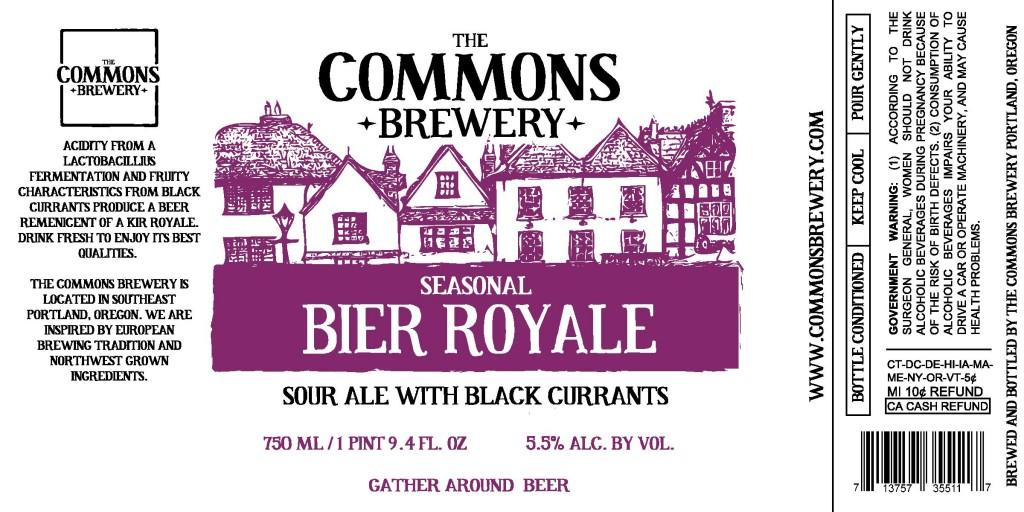 Biere Royale Label
