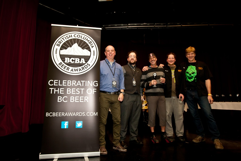 Central City brewers accepting top honours at BC Beer Awards 2013