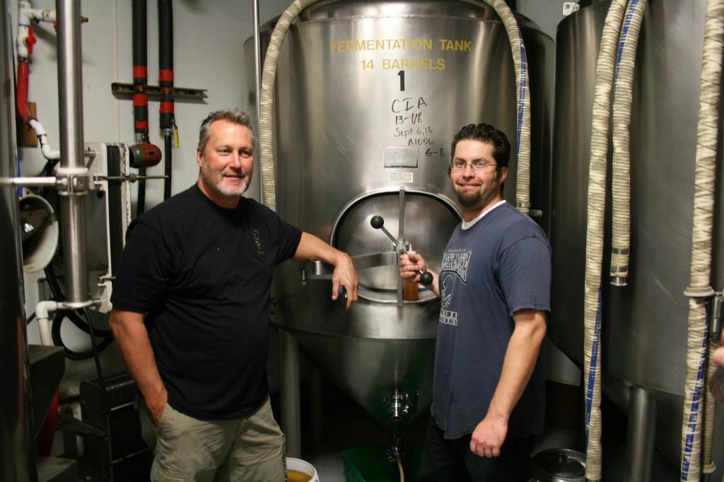 Chef Brian Scheehser, left, and Lompoc's Bryan Keilty
