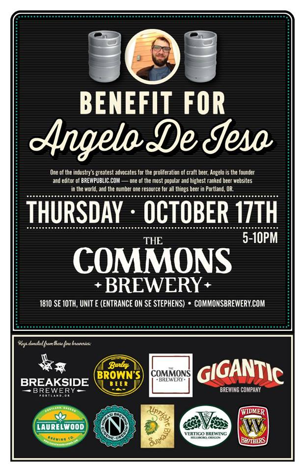 Commons Benefit for Angelo De Ieso