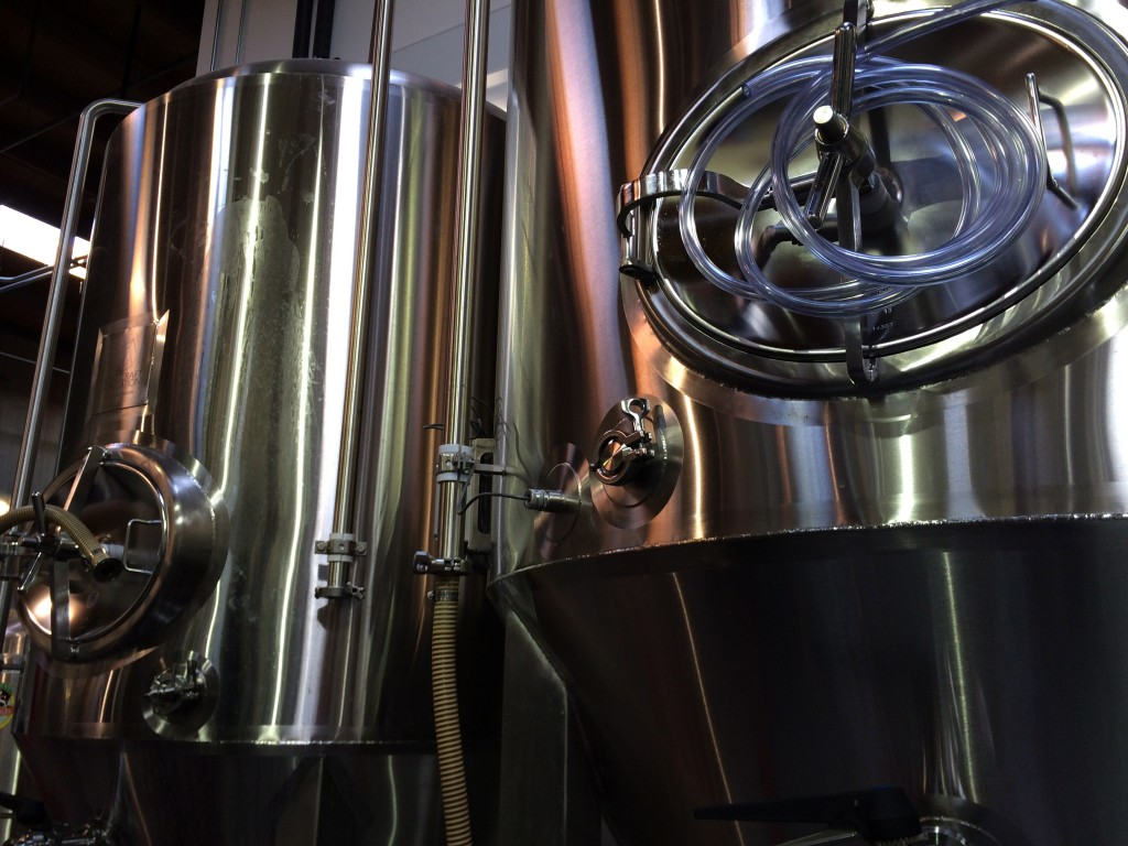Ecliptic Brewing Tanks
