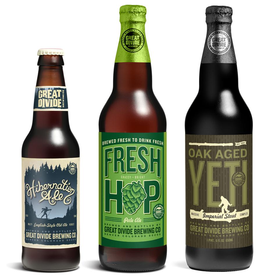Great Divide Hibernation, Fresh Hop, Oak Aged Yeti