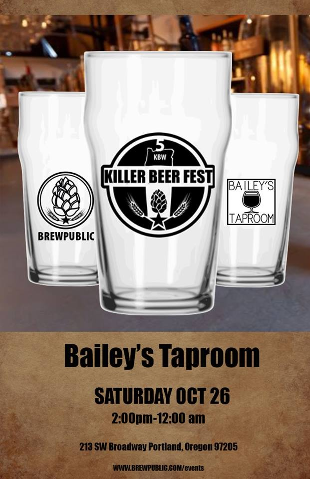 KillerBeerFest 5 at Bailey's Taproom 2013