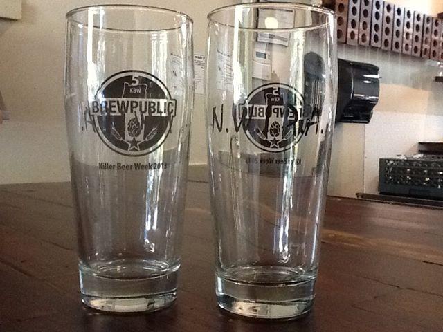 N.W.I.P.A. Brewpublic Glassware