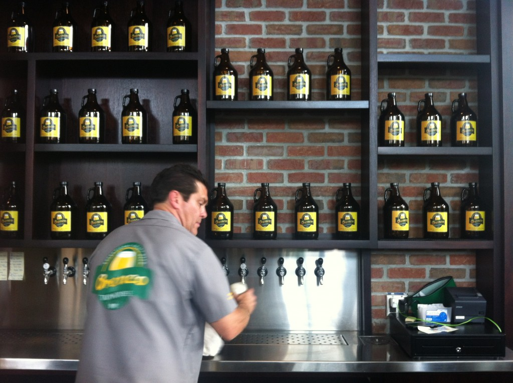 Orenco-Taphouse-Owner-Dirk-Baker-Working-the-20-Taps