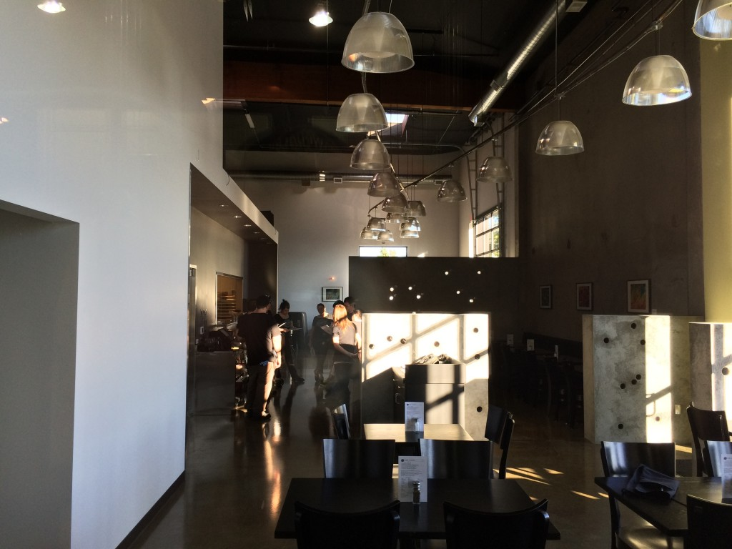 Restaurant Seating Area at Ecliptic Brewing