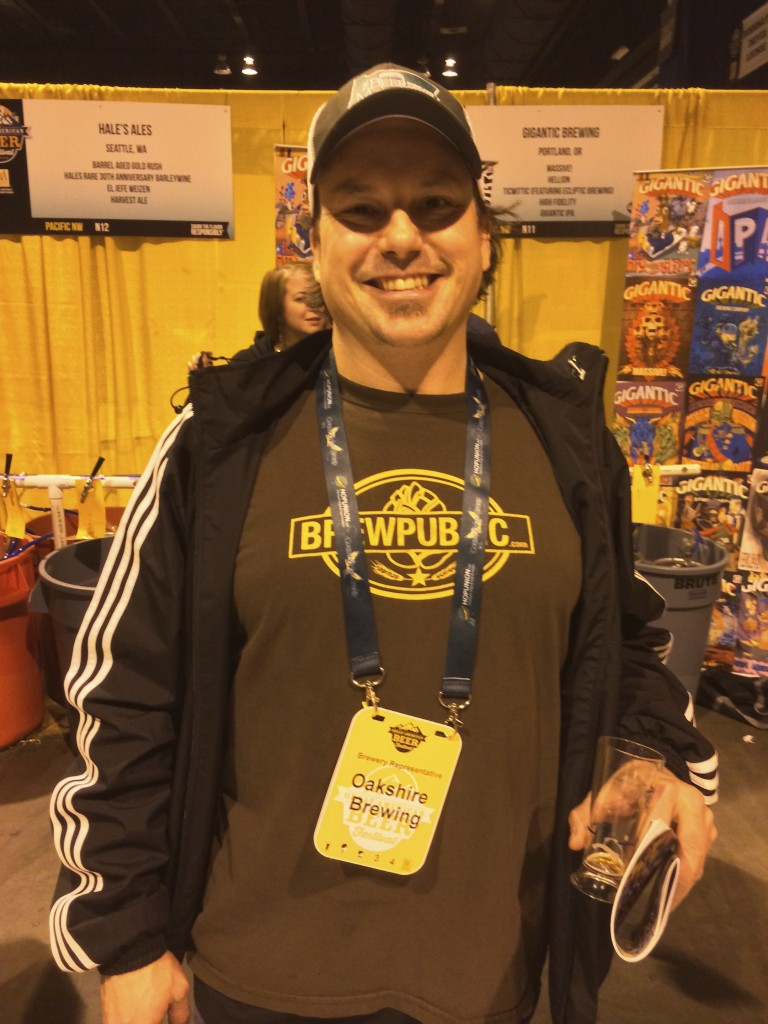 The BeerMongers Sean Campbell at 2013 GABF