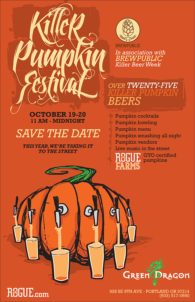 Killer Pumpkin Festival 2013 at the Green Dragon