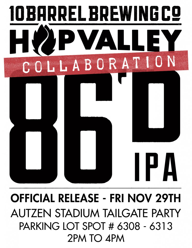 86D IPA RELEASE POSTER
