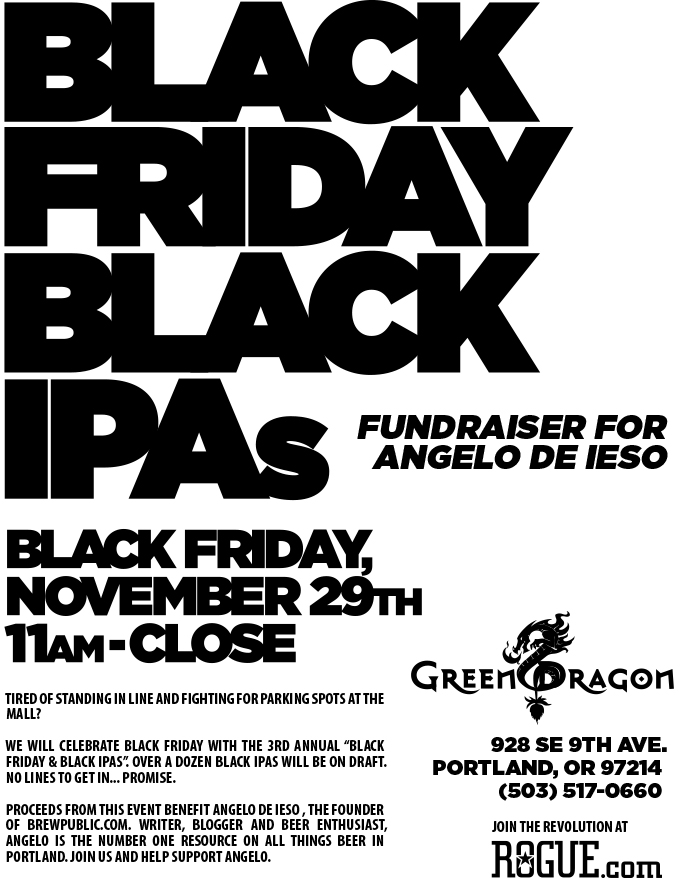 Black Friday 2013 at the Green Dragon