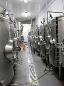 Brassneck Brewery tanks