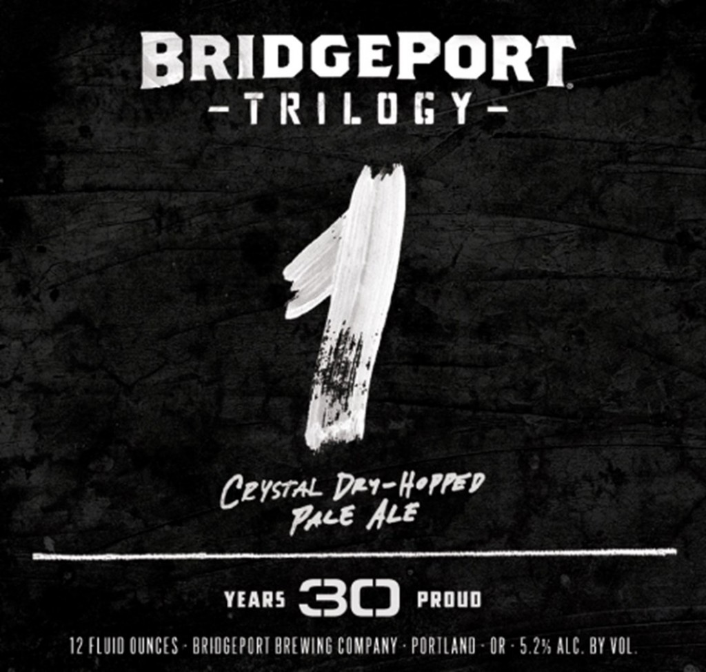 BridgePort Trilogy 1 Beer Label