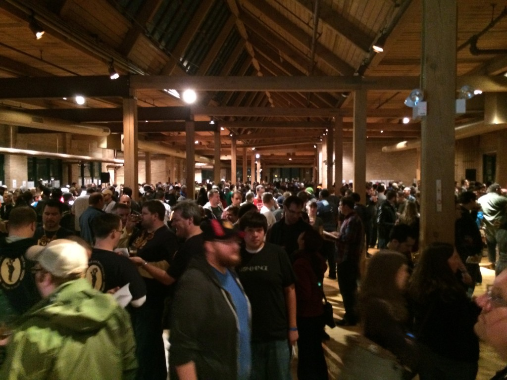 Evening Session Crowd at FoBAB
