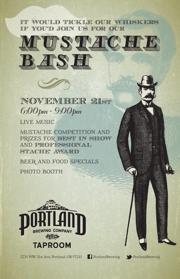 Portland Brewing Co. Mustache Bash