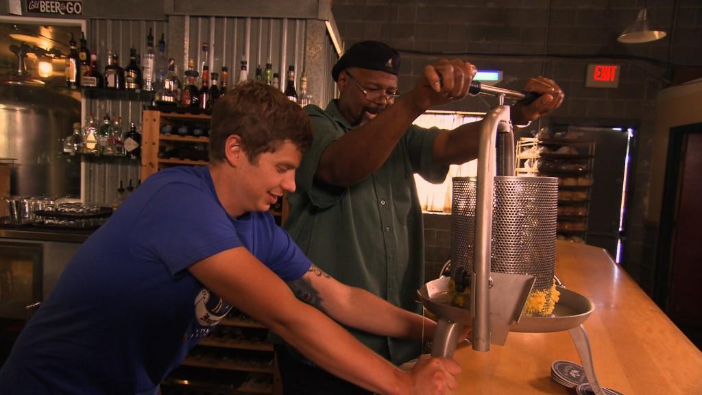 Alameda Brewing Co. brewer Marshall Kunz and Michael Ferguson