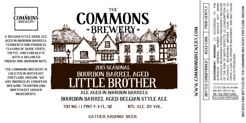 Commons Bourbon Barrel Aged Little Brother