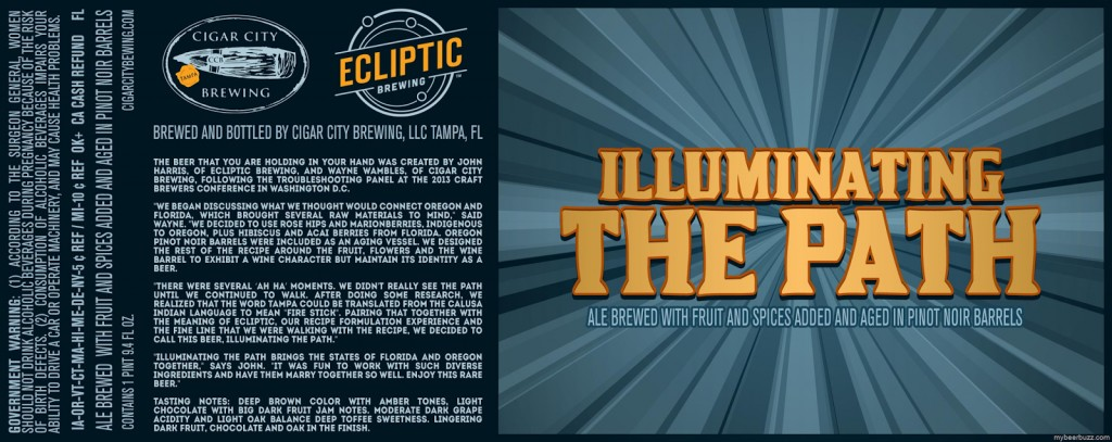 Cigar City + Ecliptic Illuminating the Path