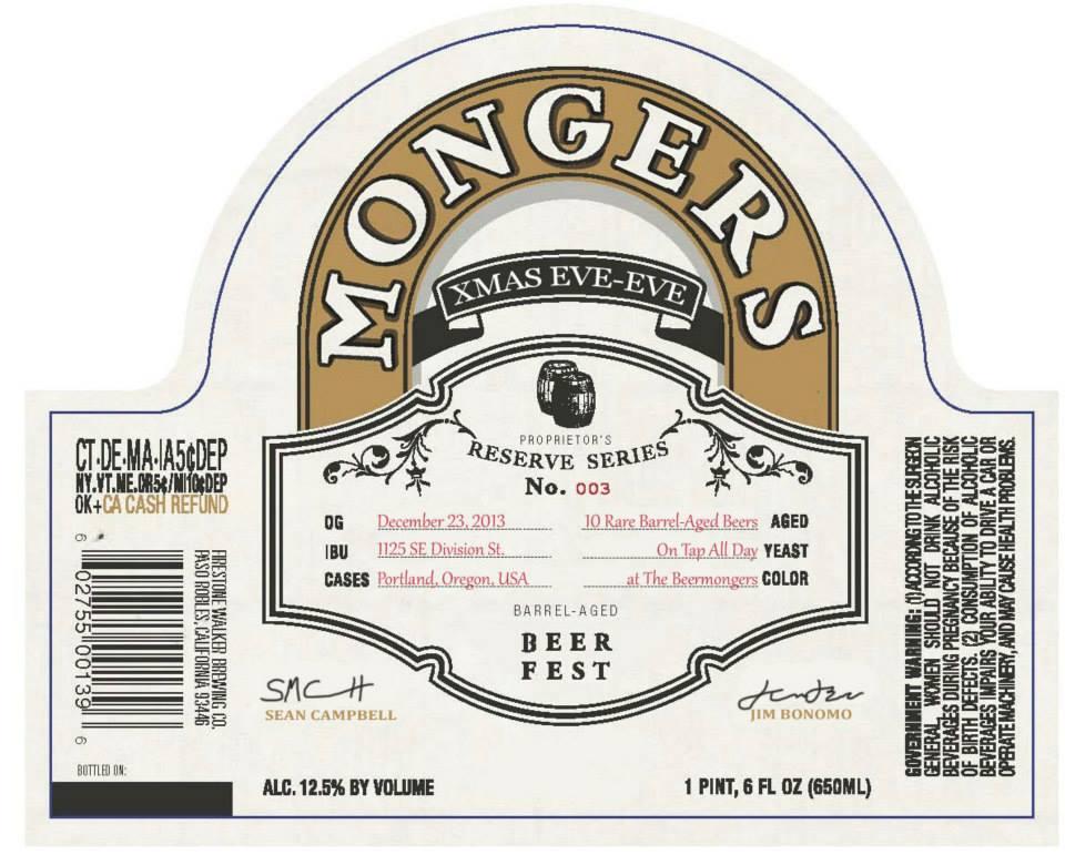 The BeerMonger Xmas Eve-Eve