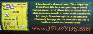 Three Floyds Dreadnaught Imperial IPA (photo from dailybeerreview.com)