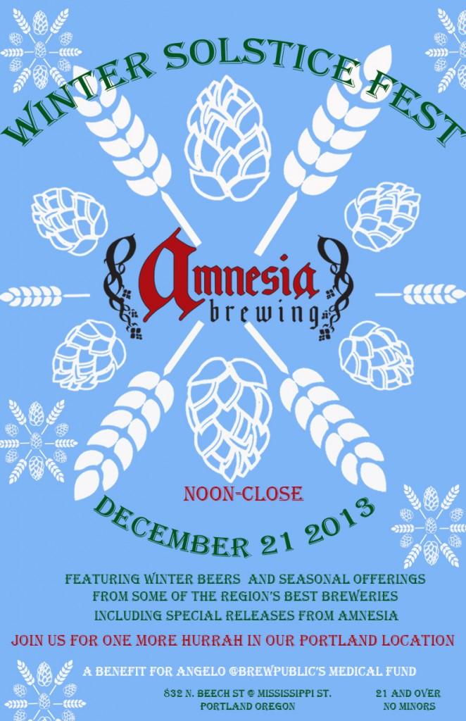 Amnesia Winter Solstice Fest