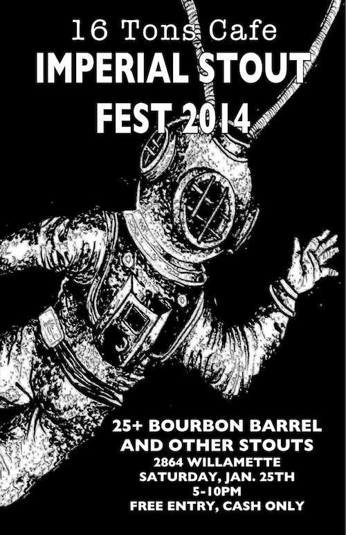 16 Tons Imperial Stout Fest 2014