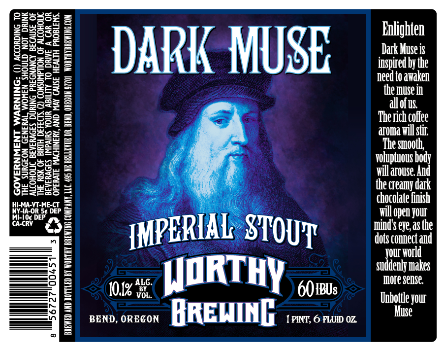 Dark Muse Imperial Stout