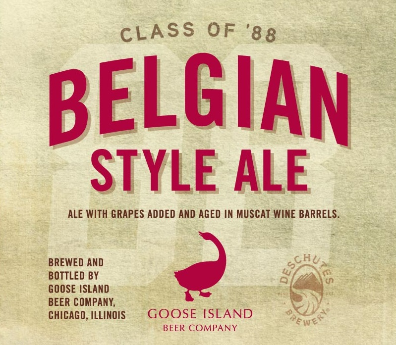 Goose Island Class of '88 Belgian Style Ale
