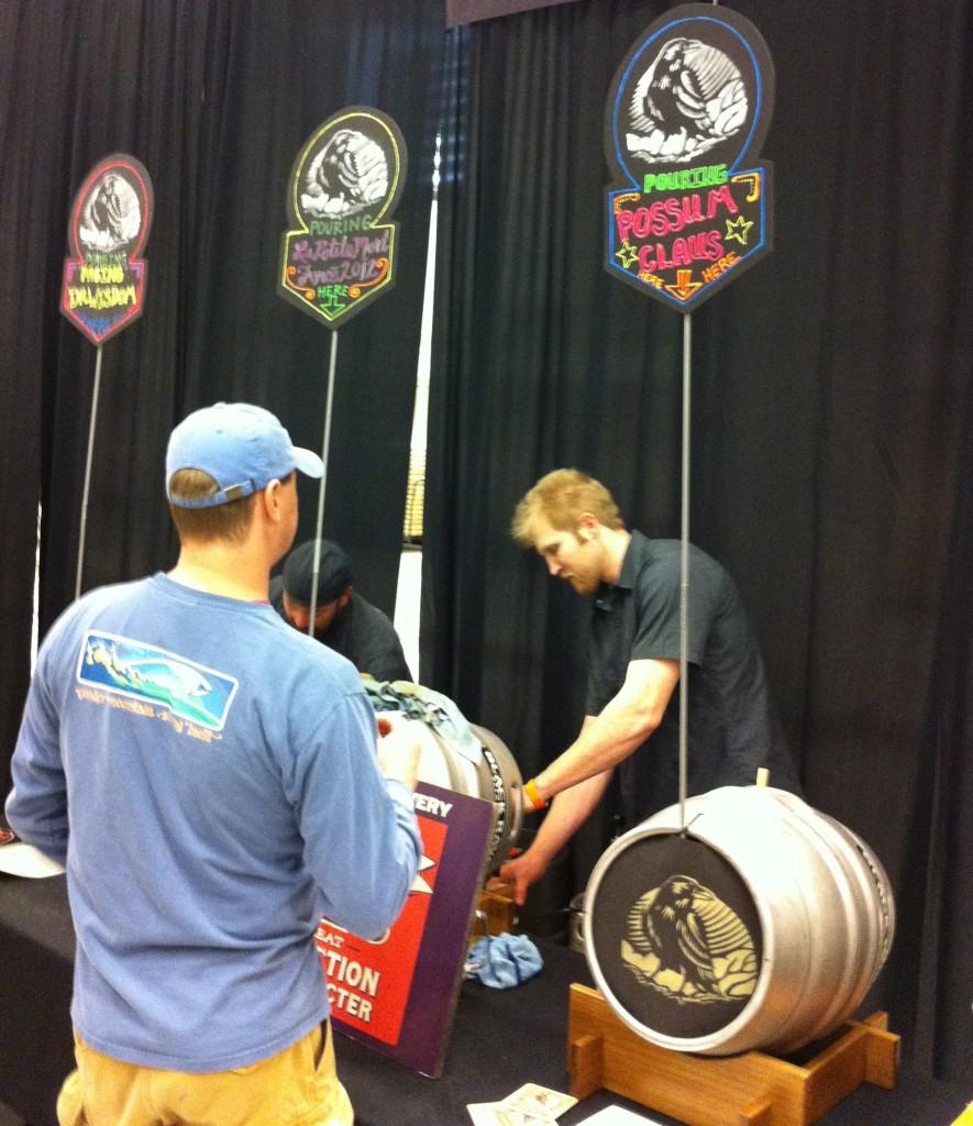 Black Raven Pouring at Washington Cask Beer Fest