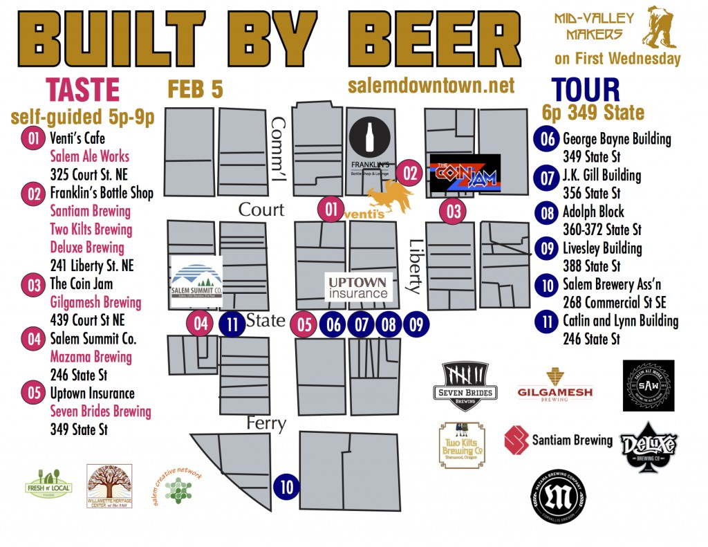 Built By Beer Map