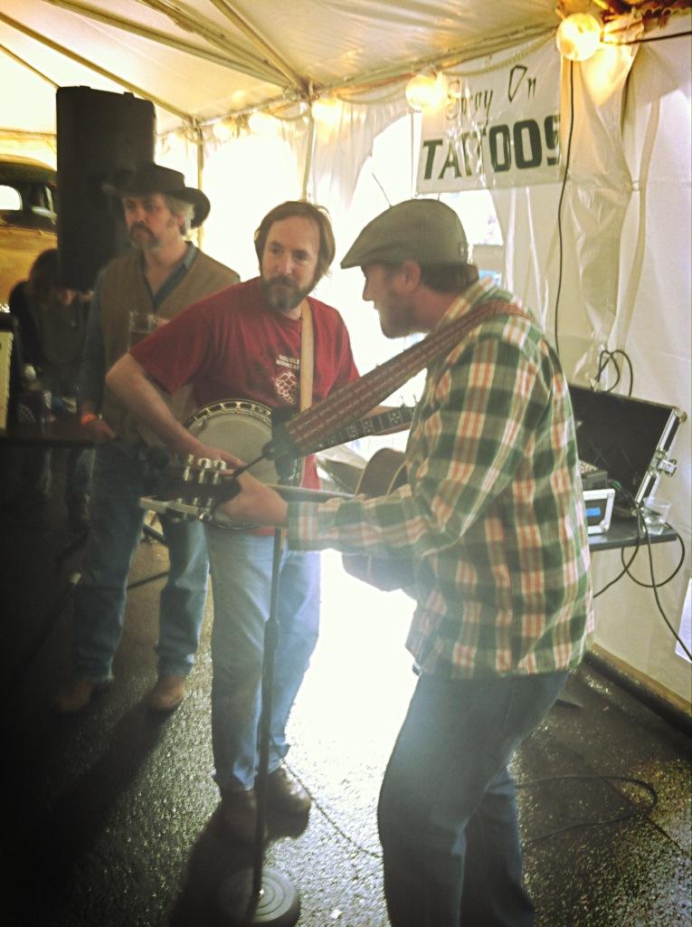 Matt Swihart on Banjo at Double Mountain 6th Anniversary