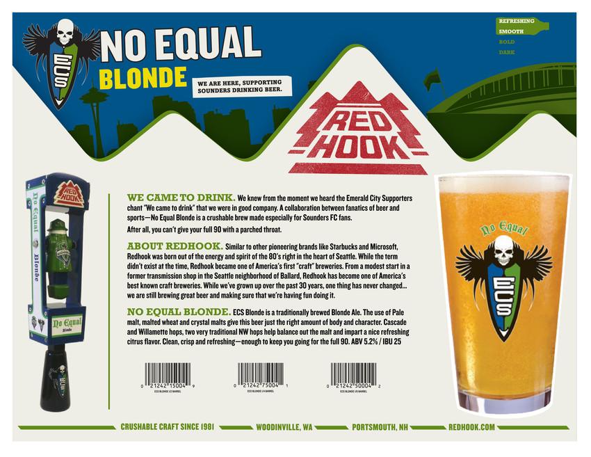 Redhook No Equal Blonde