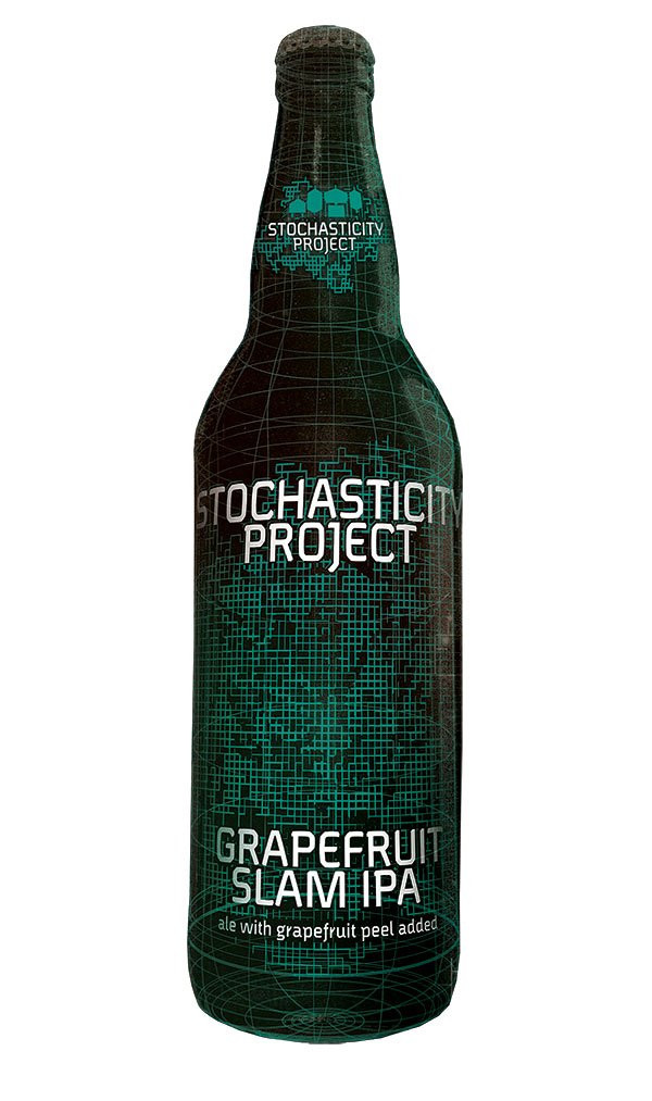Stochasticity Project Grapefruit Slam IPA Bottle