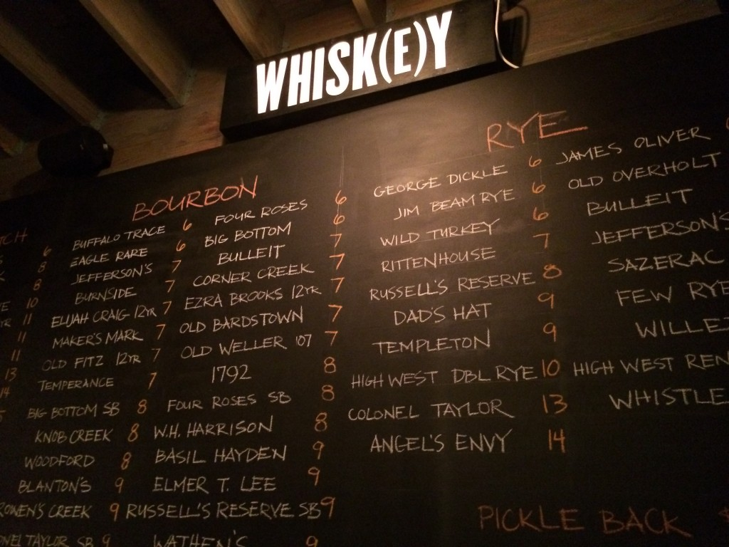 The Old Gold Whisky Board
