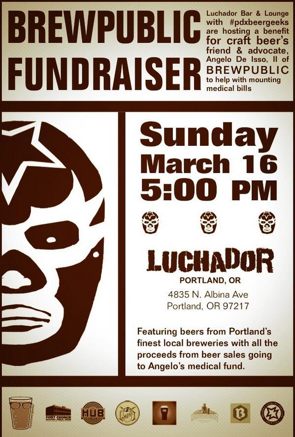 Angelo De Ieso Fundraiser at Luchador