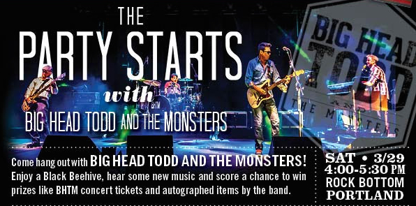 BIg Head Todd & the Monsters at Rock Bottom